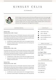 Resumes Templates 2018 Simple 28 Incredible CV Templates For Every Job Type Career Girl Daily