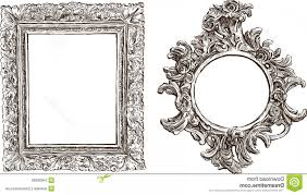 fancy rectangle vector royalty free stock images old ornate frames vector drawing two antique image