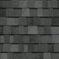 Black architectural shingles Charcoal Trudefinition Duration Estate Gray Laminate Architectural Shingles 328 Sq Ft Per Bundle The Home Depot Owens Corning Trudefinition Duration Estate Gray Laminate
