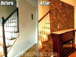 fake bricks for interior walls faux brick wall in living room fake bricks for interior walls
