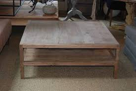 Large Wood Coffee Table 3 Pictures
