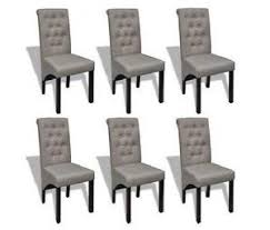 cloth dining chairs. 6 Fabric Dining Chairs Cloth