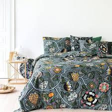 full image for marimekko double duvet covers uk tiara duvet cover grey light blue yellow marimekko