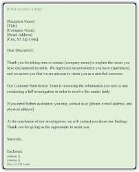 customer complaint response letter sample word pdf templates customer complaint response letter sample