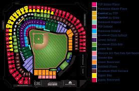 Rangers Stadium Seating Chart Texas Rangers Seating Chart Seating Chart