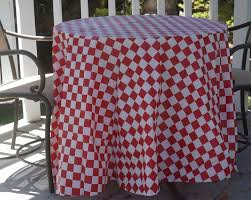 checks plaid tablecloths red white checks
