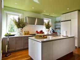 Best Paint Kitchen Cabinets Painting Kitchen Ceilings Pictures Ideas Tips From Hgtv Hgtv