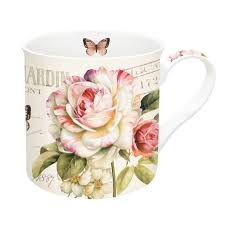 Easy Life Design Coffee Mugs Porcelain Cup 350 Ml In Gift Box