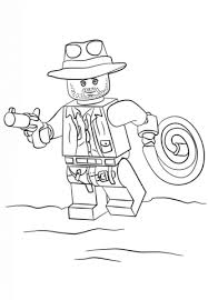 Small Picture Lego Indiana Jones coloring page Free Printable Coloring Pages