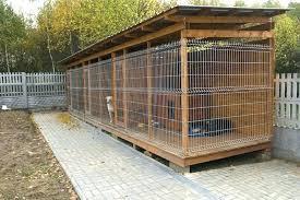 dog kennel ideas diy outdoor