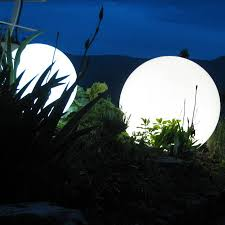 outdoor lighting balls. Plain Lighting Illuminated Balls In The Garden For Outdoor Lighting Balls Notonthehighstreetcom