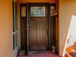 craftsman single 36x80 fiberglass entry door with 2 sidelights in 5 foot wide entrance plastpro