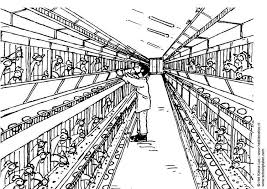 Small Picture Coloring page chicken coop img 5531