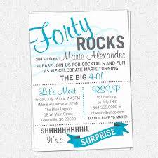 40th Birthday Invitations Free Templates Free 40th Birthday Invitations Template Wilkesworks
