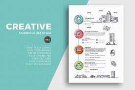 Unique Resume Designs Unique Resume Designs Cv Alternative Though Clean Template Cover 4