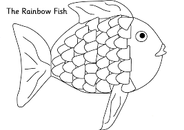 Small Picture Coloring Download The Rainbow Fish Coloring Page The Rainbow