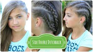 double dutchback edgy hairstyles