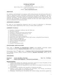 Project Management Resume Objective Project Manager Resume Objective