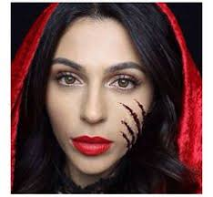 miss maven s red riding hood makeup tutorial