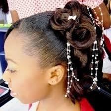 Image Modèle Coiffure Mariage Africaine Coiffure Cheveux Mi