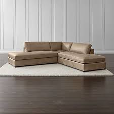 Contemporary Sectional Sofas Crate and Barrel