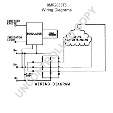 8mr2033ts alternator product details prestolite leece neville 8mr2033ts wiring diagram
