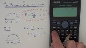 how to work out the perimeter of a semi circle including formula and examples you