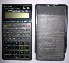 sharp calculator. sharp el-556g calculator