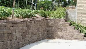 if your retaining wall needs reinforcement follow the instructions for adding grid to corners
