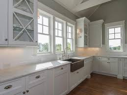 White And Gray Kitchen Pale Grey Kitchen Cabinets Quicuacom