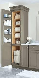 Bathroom Storage Cabinets Floor Bathroom With Storage Cabinets Open