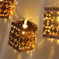 interior lantern lighting. Simple Lighting Retro Square Lantern String Lights 20 LED Indooru0026Outdoor Decorative  22M For Christmas Wedding On Interior Lighting E