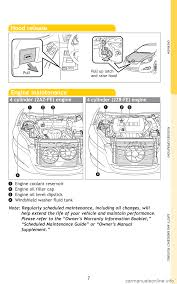 TOYOTA MATRIX 2009 E140 / 2.G Quick Reference Guide