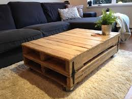 Furniture Accessories : L Shaped Black Modern Frameless Sofa Rectangle  Rustic Wood Pallet Coffee Table Pallet
