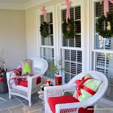 beautifully decorated christmas homes best images about deck the