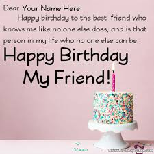 happy birthday wishes for friend with