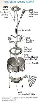 turn signal housing diagram trifive com 1955 chevy 1956 chevy turn signal housing diagram