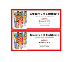 free gift certificate template 29