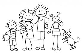 Small Picture Winsome Coloring Pages Of A Family Coloring Pages Of A Family