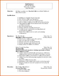 Inspiring Teachers Resume Teacher Assistant Resume Ideas 36 Teachers ...