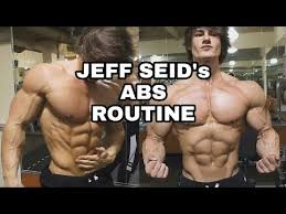 Six Pack Abs Workout Chart Jeff Seid Six Pack Abs Workout Abs Routine How To Get