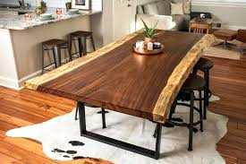 live edge table top finish round coffee rustic live edge table black surfaces wood tables slab lake house shoot 5
