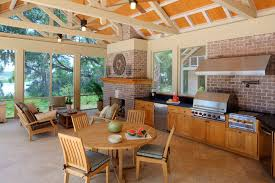 Kitchen Best 25 Outdoor Kitchens Ideas On Pinterest Backyard Backyard Kitchen