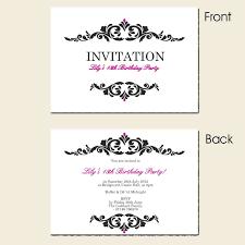 free th birthday invitation templates spectacular 30th birthday invitation templates free