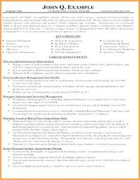 Resume Core Competencies Examples