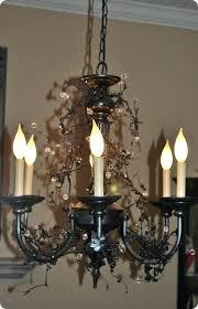 chandelier vine inspired crystal
