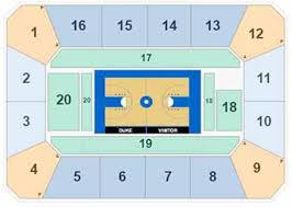 Seating Chart Of Cameron Indoor Stadium Duke Basketball Tickets 2019 Duke Blue Devils Tickets
