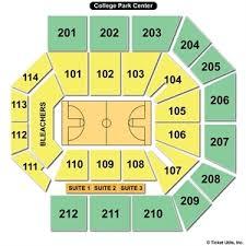 College Park Center Seating Chart Csnbbs Cincy Fans
