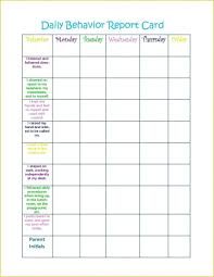 039 Weekly Behavior Chart Template Unforgettable Ideas