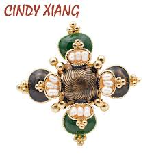 <b>CINDY XIANG</b> New Arrival 2018 Fashion Pearl <b>Baroque</b> Brooches ...